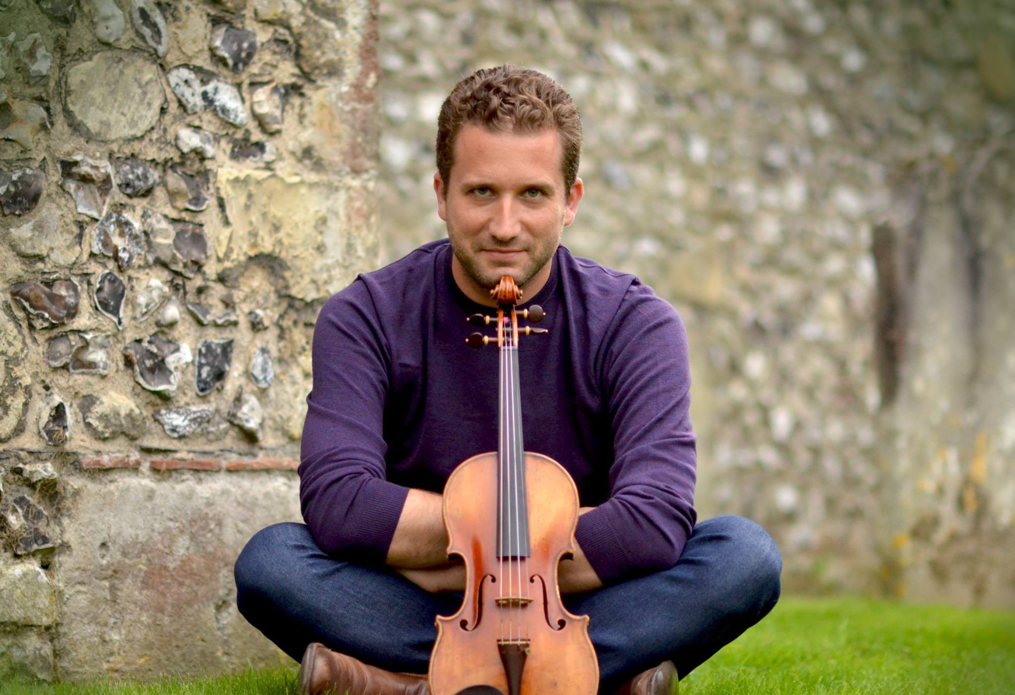 Violinist Benjamin Bowman featured in Opera Canada