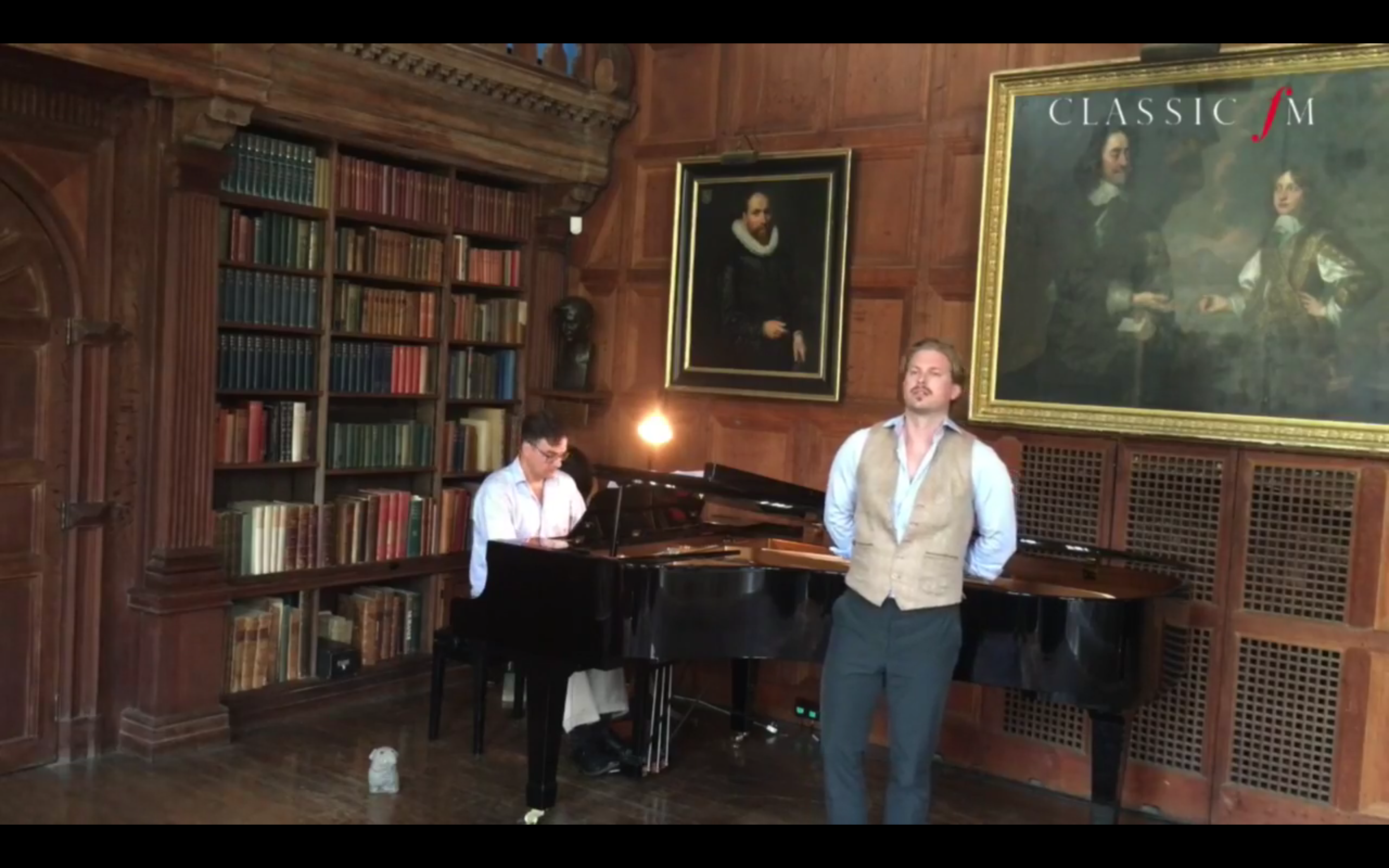 Video: Baritone John Chest Live on ClassicFM from Glyndebourne